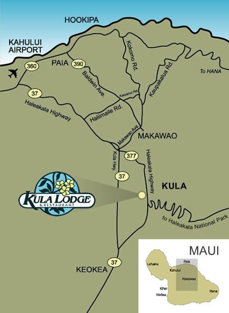 find the Kula Lodge
